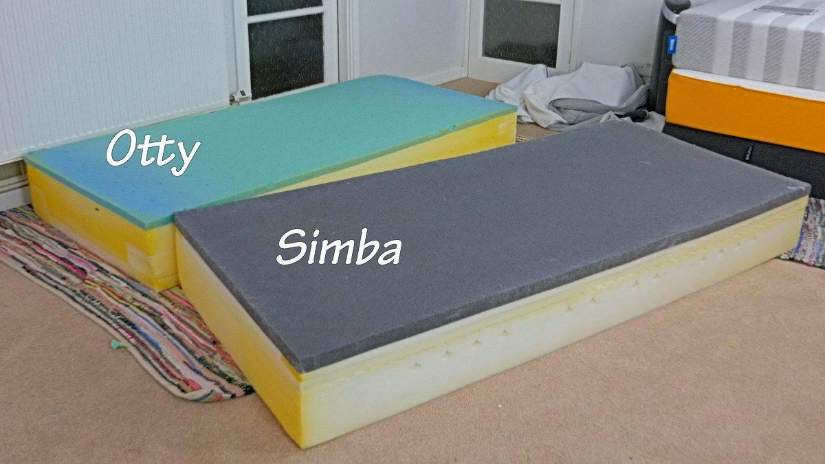 Otty and Simba layers